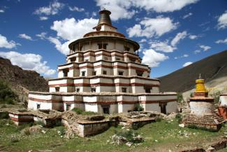 Great Stupa at Jonang, '09